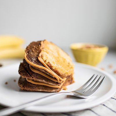 Butterscotch Banana Cake