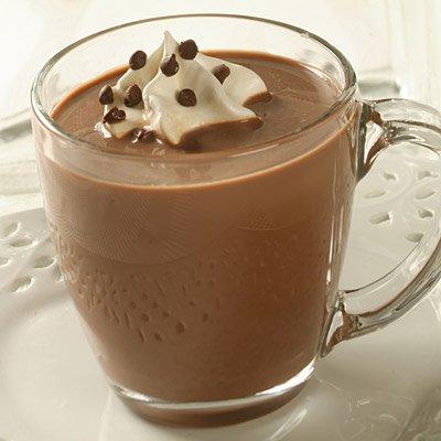Snow-Capped Cinnamon Hot Cocoa
