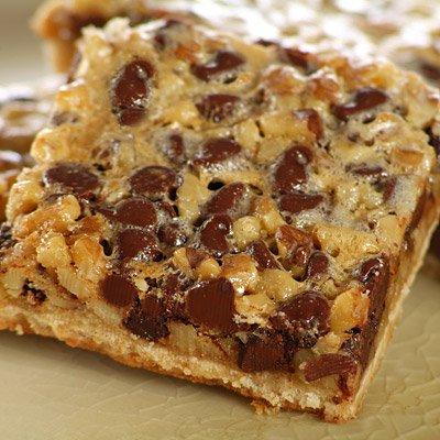 Chocolate Walnut Pie Bars