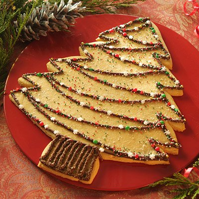 Holiday Tree Cookie