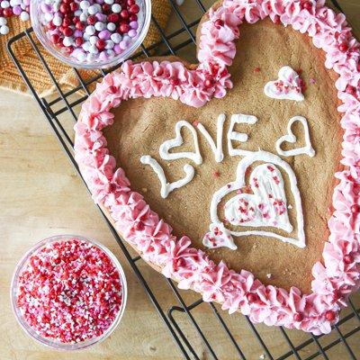 Big Valentine Cookie
