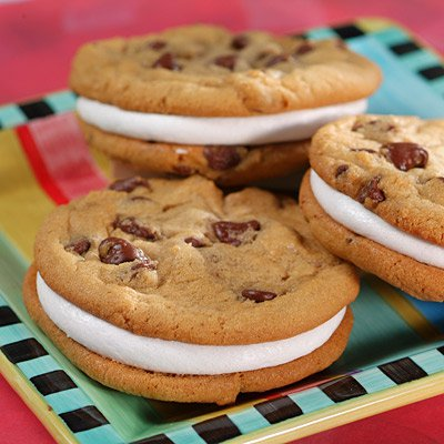 Marshmallow Sandwich Cookies