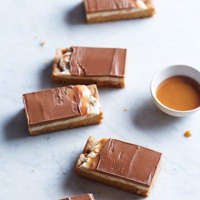 Nutty Nougat Caramel Bites