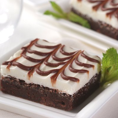 Moist And Minty Brownies