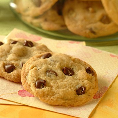 Sensibly Delicious Chocolate Chip Cookies