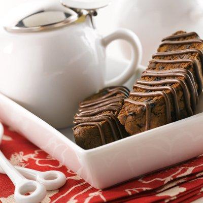 Chocolaty Cherry Biscotti