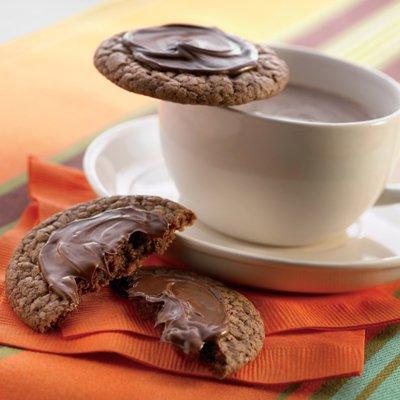 Chocolate Caliente Cookies