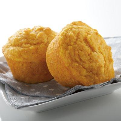 Corn Muffins + Pumpkin