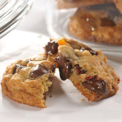 Dark Chocolate Chip & Trail Mix Cookies