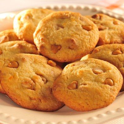 Butterscotch Orange Cookies