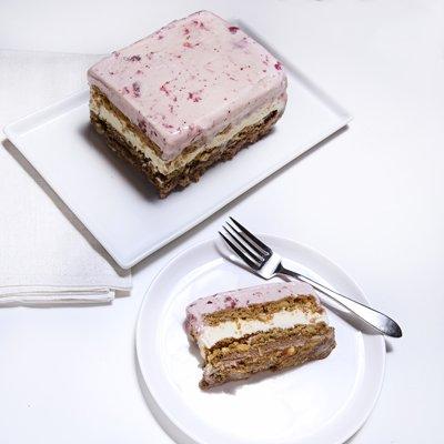 Neapolitan Ice Cream Cookie Loaf