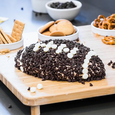 Game-Winning Chocolate Chip Cheesecake Ball
