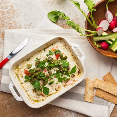 Mediterranean Cheese Dip