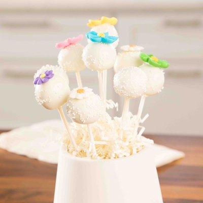 Spring Sugar Cookie Pops