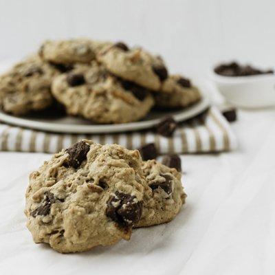 Salty Sweet Caramel Truffle Cookies