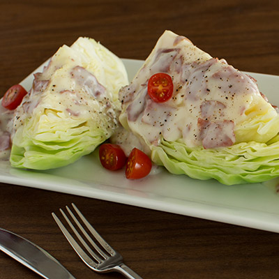Creamed Chipped Beef and Cabbage