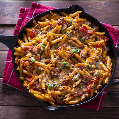Easy Sausage Pasta Supper