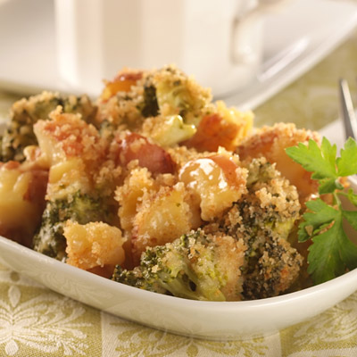 Three-Vegetable Bake