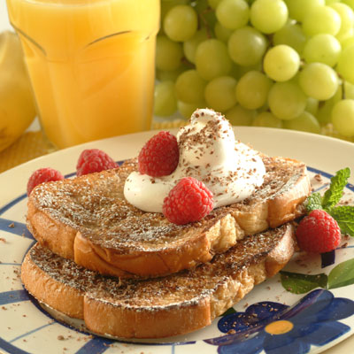 Chocolate Brunch French Toast