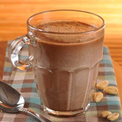 Nutty Dark Hot Chocolate