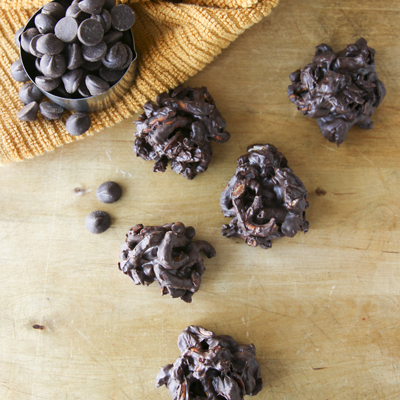 Dark Chocolate Cherry Candies