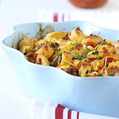 Make-Ahead Breakfast Sausage Casserole