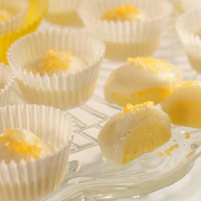 Mini Lemon Cup Candies