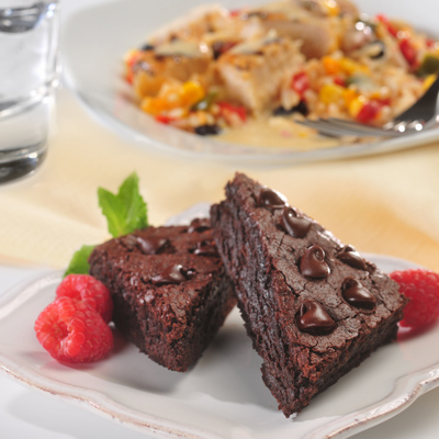 "Black Bean ""Flourless"" Brownies"