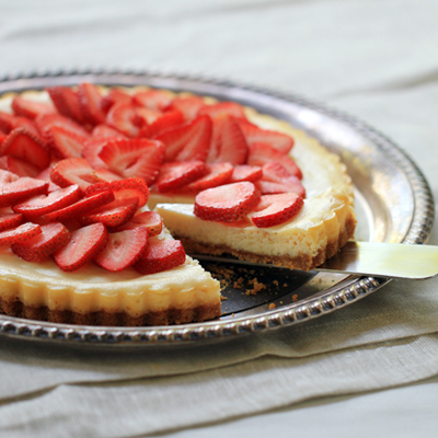 Fresh Strawberry & Lemon Tart