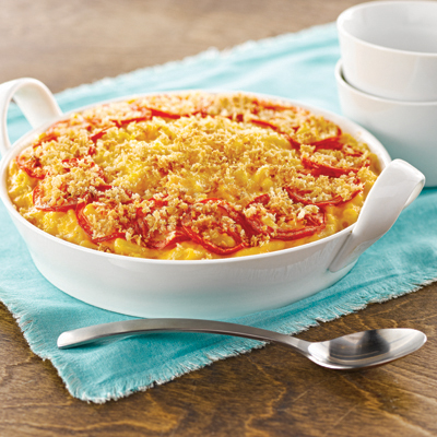 Roasted Tomato Mac & Cheese