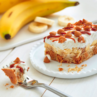 Butterscotch Banoffee Pie Bars