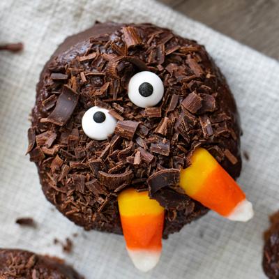 Spooky Brownie Bites