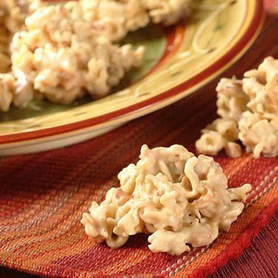 Crunchy Pecan Clusters