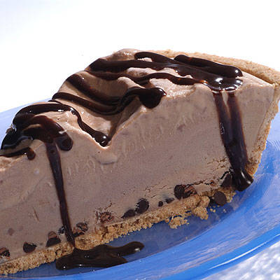 Black Bottom Mocha Ice Cream Pie