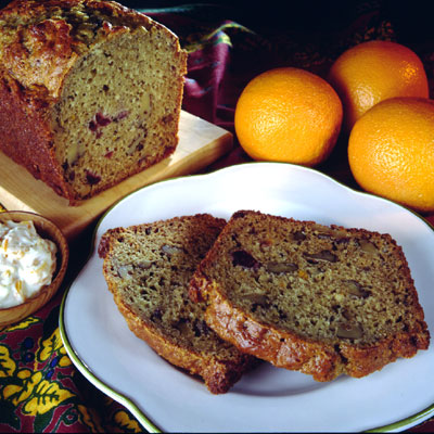 Cranberry Orange Toasted Bread