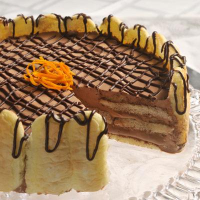 Festive Chocolate Mousse Cake