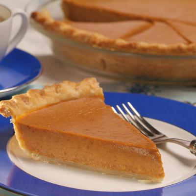 Sensibly Delicious Pumpkin Pie