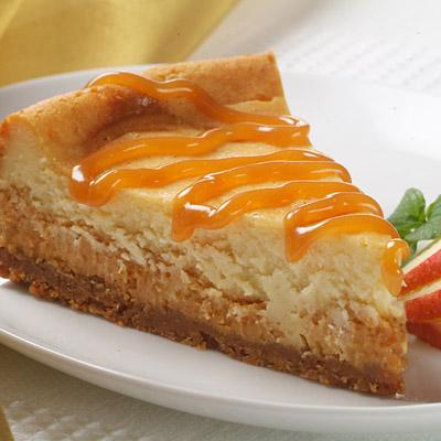 Premier White Caramel Cheesecake