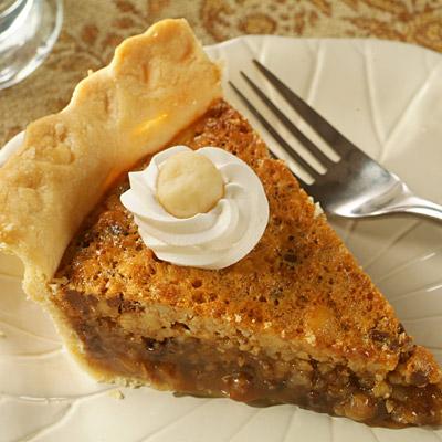 3-Nut Chocolate Mocha Pie