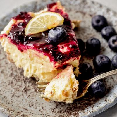 Perfect Match Blueberry Lemon Pie