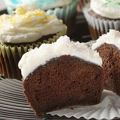 Splenda® Sugar Blend for Baking Chocolate Cupcakes