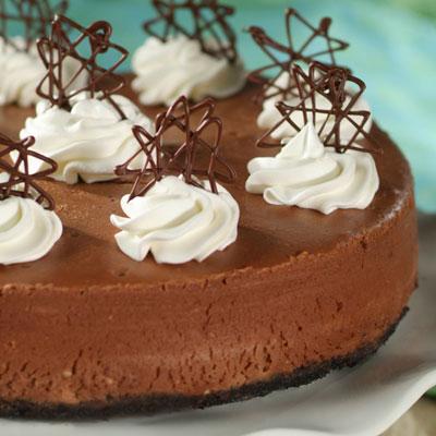 Royal Chocolate Cheesecake