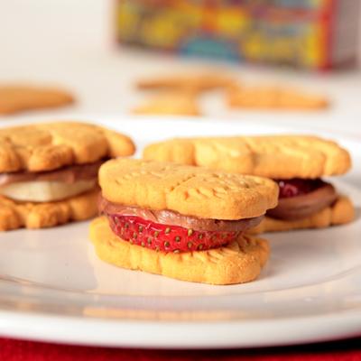 Nesquik Animal Cracker Sandwiches