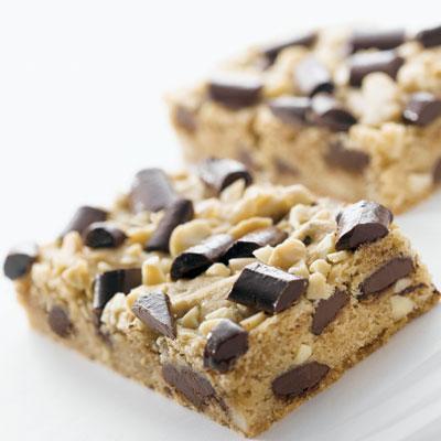 Chocolate Almond Blondie