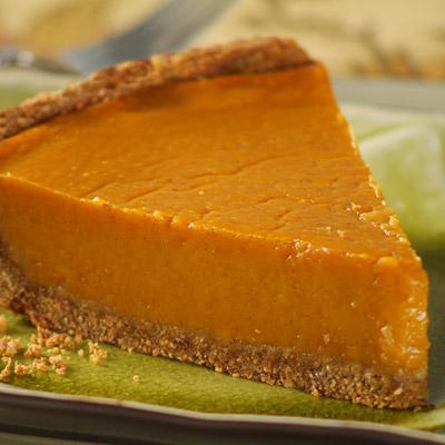 Lighter LIBBY'S® Pumpkin Pie with Whole-Grain Pie Crust