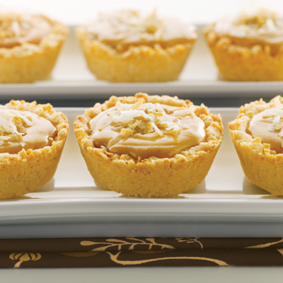Macaroon Butterscotch Tartlets