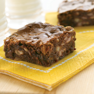 Milk Chocolate Banana Brownies