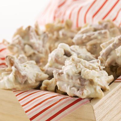 Creamy Crunchy Haystacks