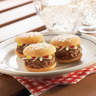Mini Dessert Burgers