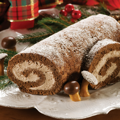 Kris Kringle Bûche de Noël
